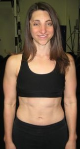 Joanna shows off her stomach