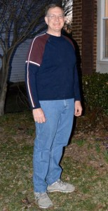 Picture of Joe down more than 60 pounds